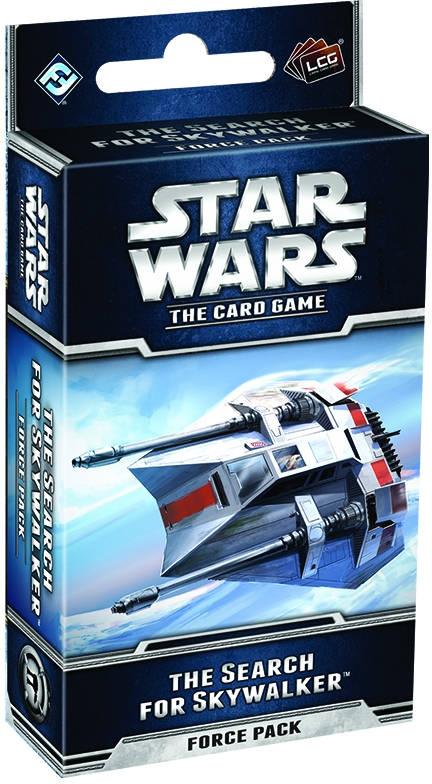 Star Wars Lcg: The Search For Skywalker Force Pack Box Front