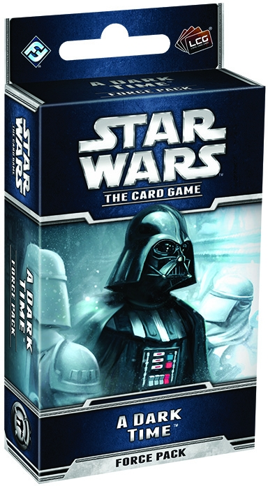 Star Wars Lcg: A Dark Time Force Pack Box Front