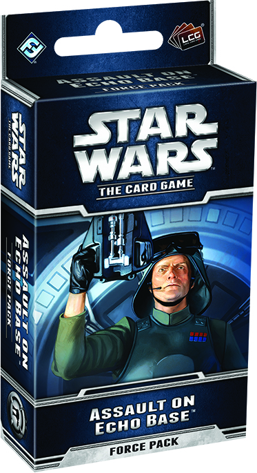 Star Wars Lcg: Assault On Echo Base Force Pack Box Front