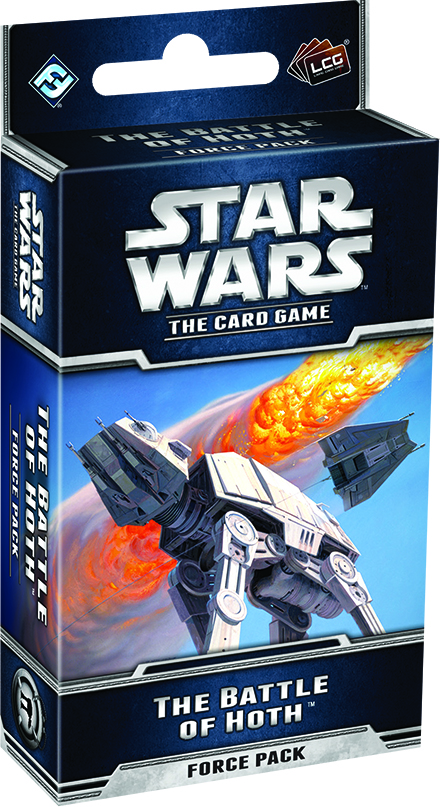 Star Wars Lcg: The Battle Of Hoth Force Pack Box Front