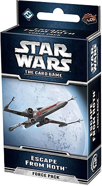 Star Wars Lcg: Escape From Hoth Force Pack Box Front