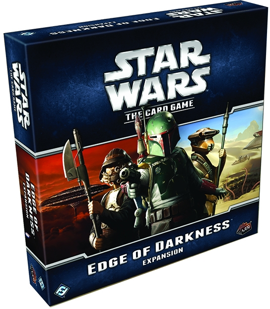 Star Wars Lcg: Edge Of Darkness Expansion Box Front