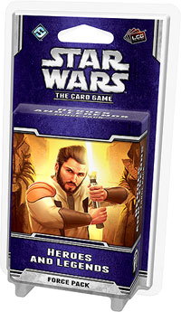 Star Wars Lcg: Heroes And Legends Force Pack Box Front