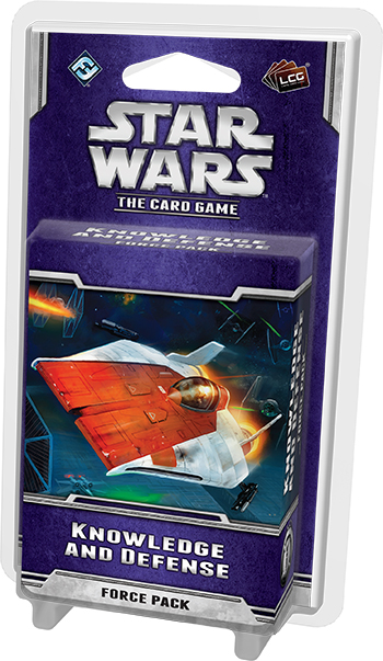 Star Wars Lcg: Knowledge And Defense Force Pack Box Front
