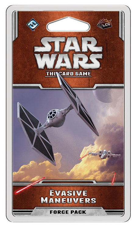 Star Wars Lcg: Evasive Maneuvers Force Pack Box Front