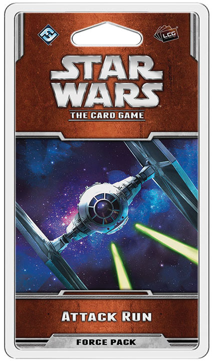 Star Wars Lcg: Attack Run Force Pack Box Front