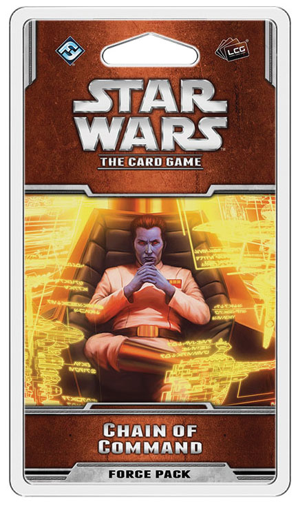 Star Wars Lcg: Chain Of Command Force Pack Box Front