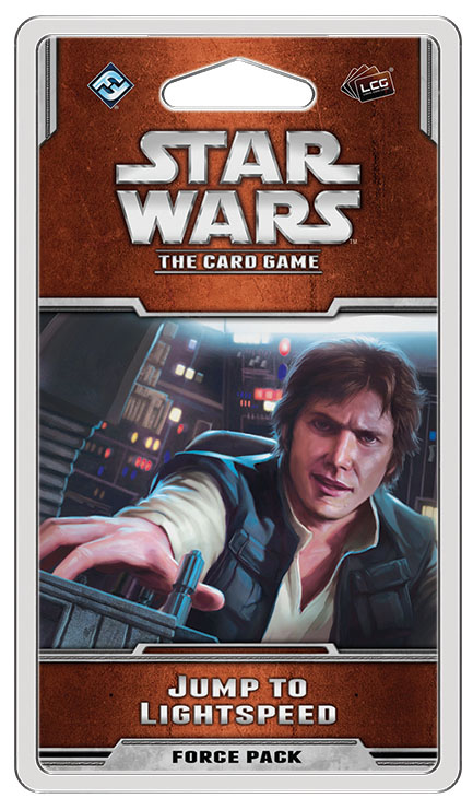 Star Wars Lcg: Jump To Lightspeed Force Pack Box Front