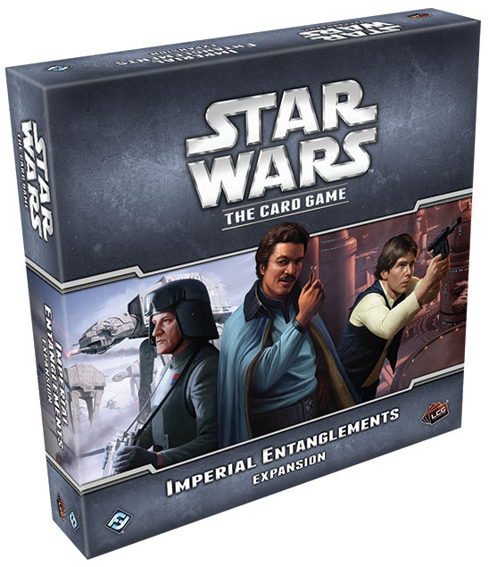 Star Wars Lcg: Imperial Entanglements Expansion Box Front