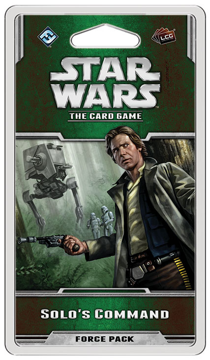 Star Wars Lcg: Solo`s Command Force Pack Box Front