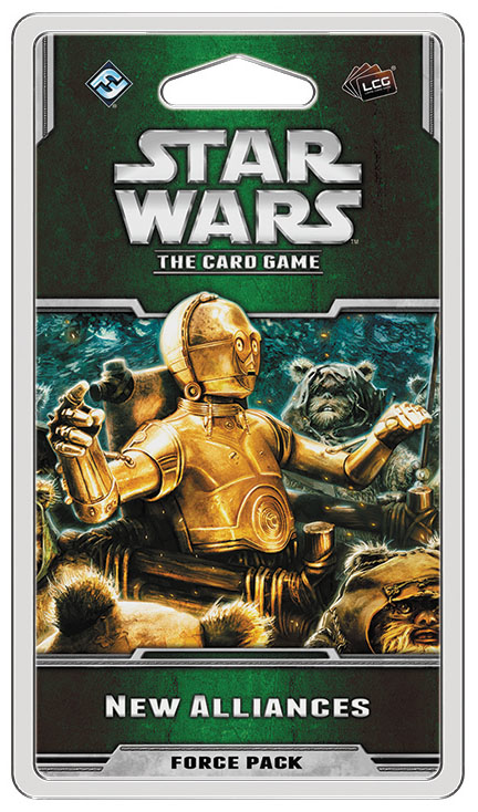 Star Wars Lcg: New Alliances Force Pack Box Front