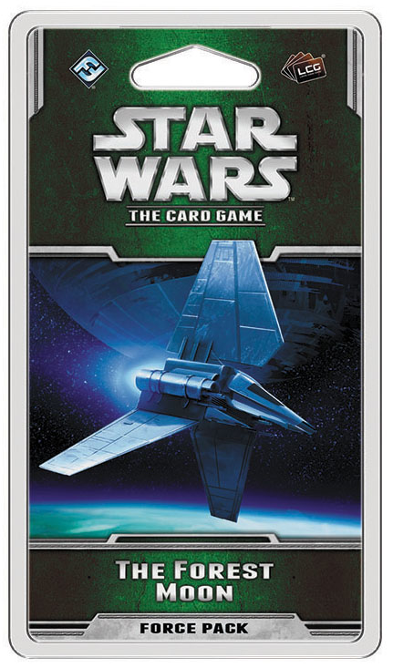 Star Wars Lcg: The Forest Moon Force Pack Box Front