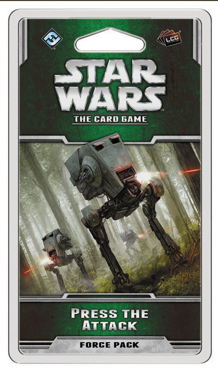 Star Wars Lcg: Press The Attack Force Pack Box Front