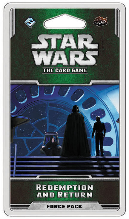 Star Wars Lcg: Redemption And Return Force Pack Box Front