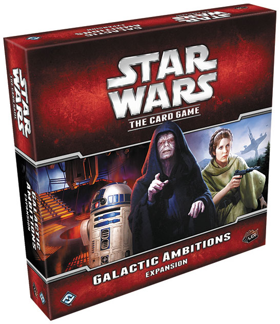 Star Wars Lcg: Galactic Ambitions Expansion Box Front