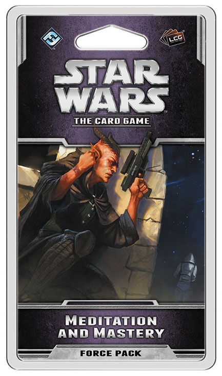 Star Wars Lcg: Meditation And Mastery Force Pack Box Front