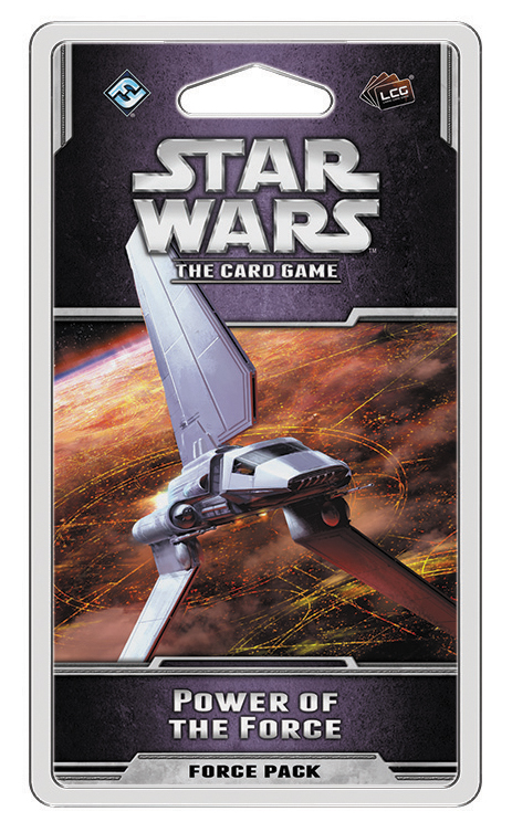 Star Wars Lcg: Power Of The Force Force Pack Box Front