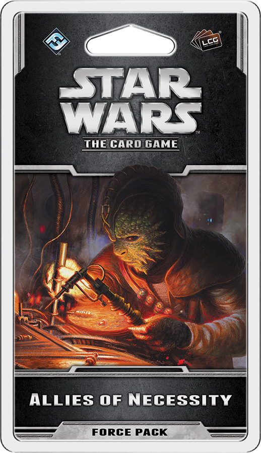Star Wars Lcg: Allies Of Necessity Force Pack Box Front