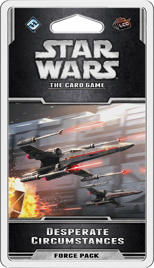 Star Wars Lcg: Desperate Circumstances Force Pack Box Front