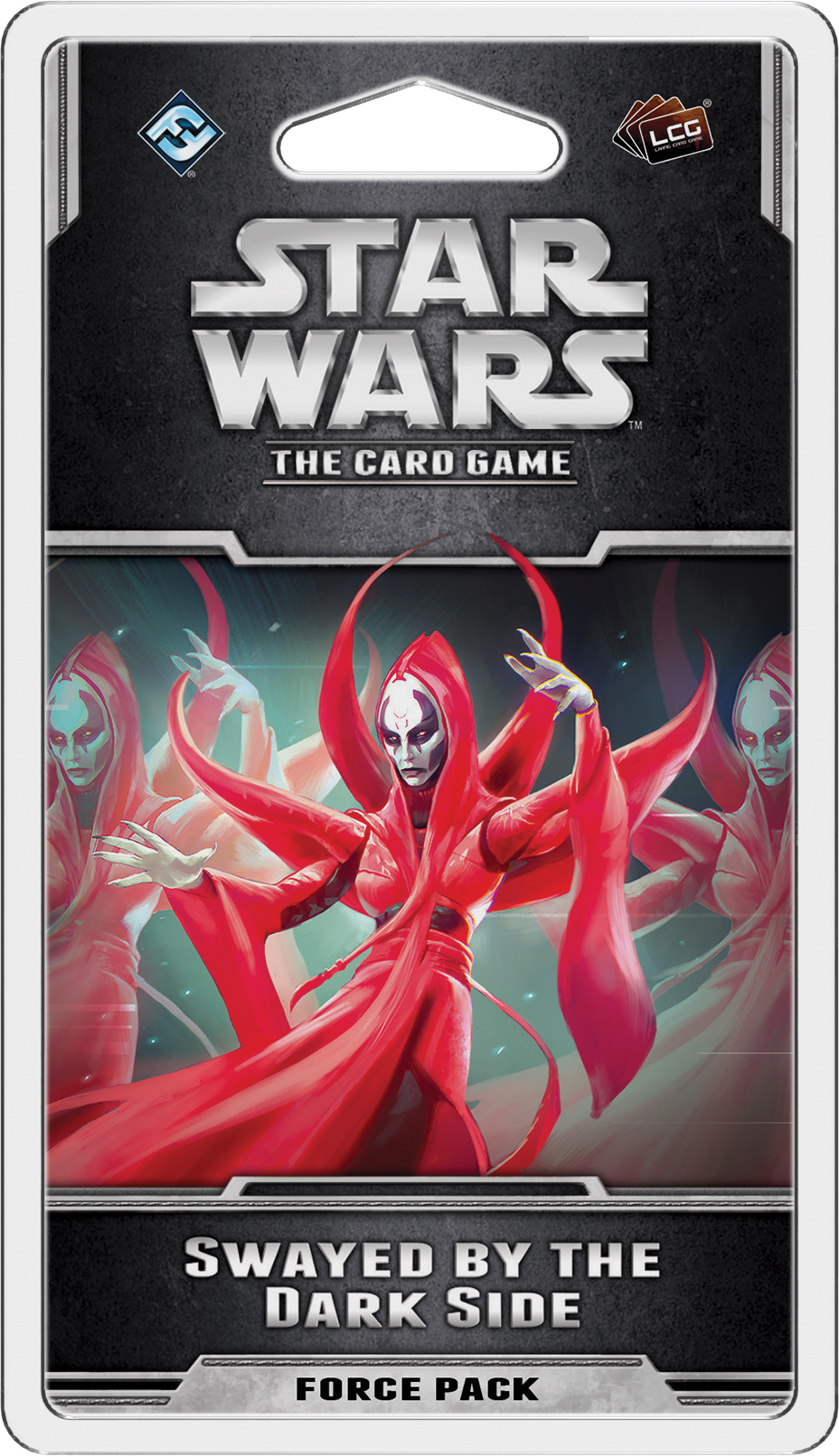 Star Wars Lcg: Swayed By The Dark Side Force Pack Box Front