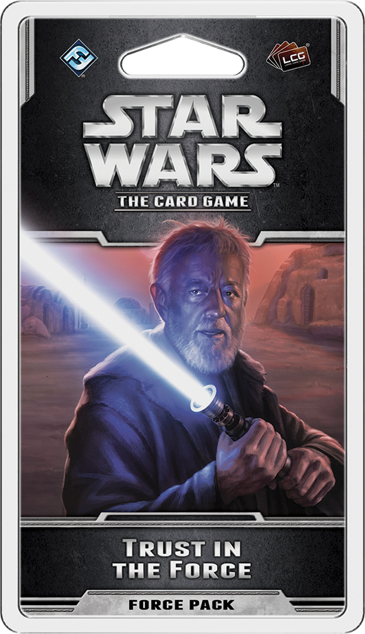 Star Wars Lcg: Trust In The Force Force Pack Box Front