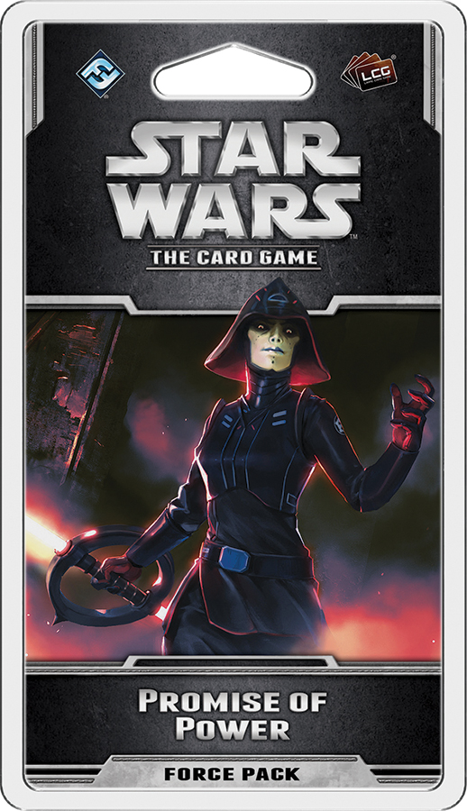 Star Wars Lcg: Promise Of Power Force Pack Box Front