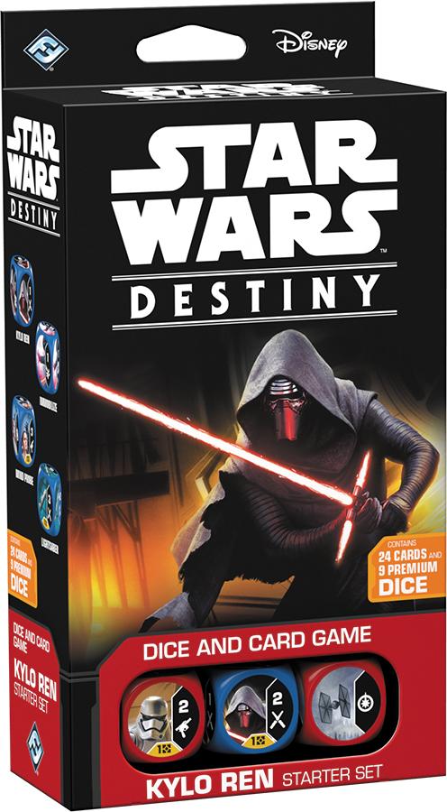 Star Wars Destiny: Kylo Ren Starter Set Box Front