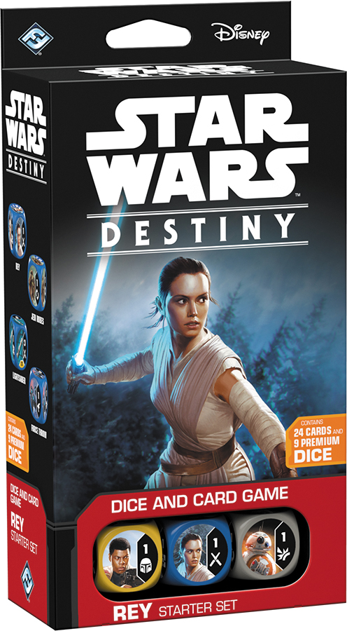 Star Wars Destiny: Rey Starter Set Box Front