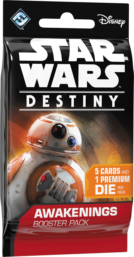 Star Wars Destiny: Awakenings Booster Pack Display (36) Box Front