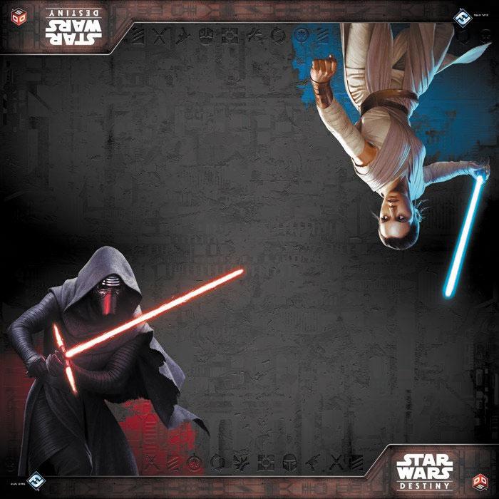 Star Wars Destiny: Two-player Gamemat - Awakenings Box Front