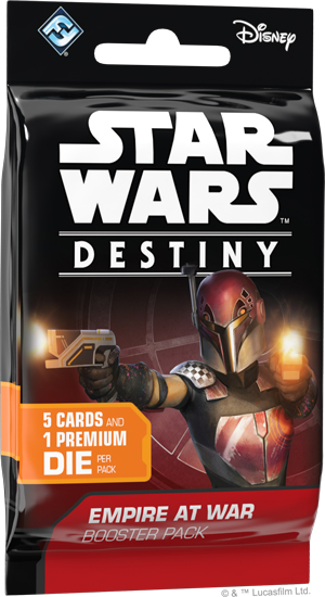 Star Wars Destiny: Empire At War Booster Pack Box Front