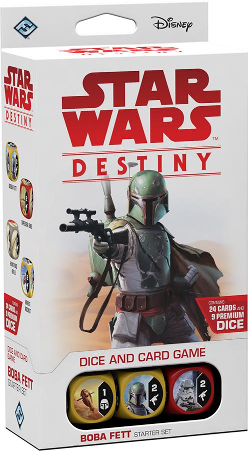 Star Wars Destiny: Boba Fett Starter Set Box Front