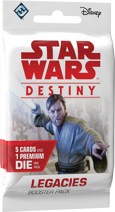 Star Wars Destiny: Legacies Booster Pack Display (36) Box Front