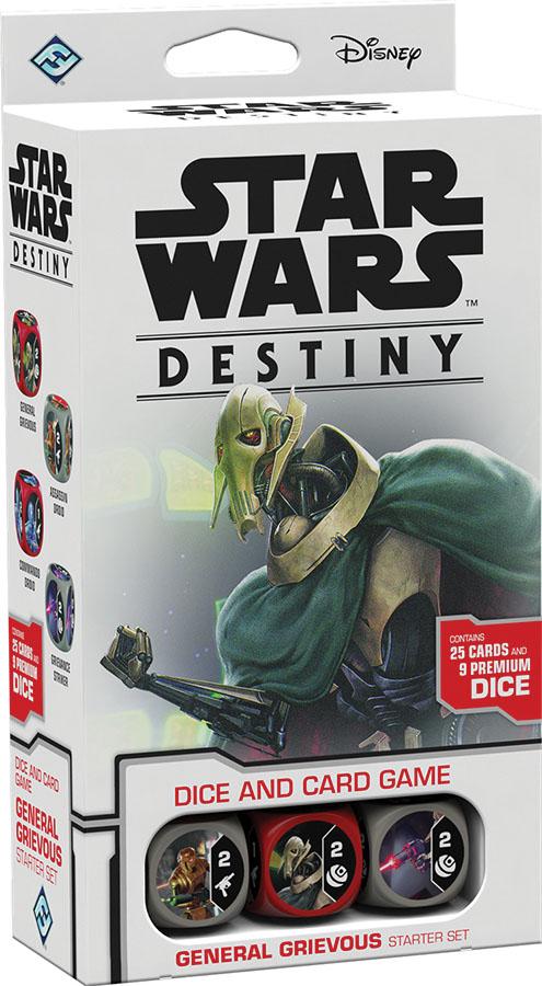 Star Wars Destiny: General Grievous Starter Set Game Box