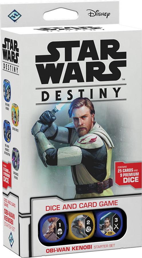 Star Wars Destiny: Obi-wan Kenobi Starter Set Game Box