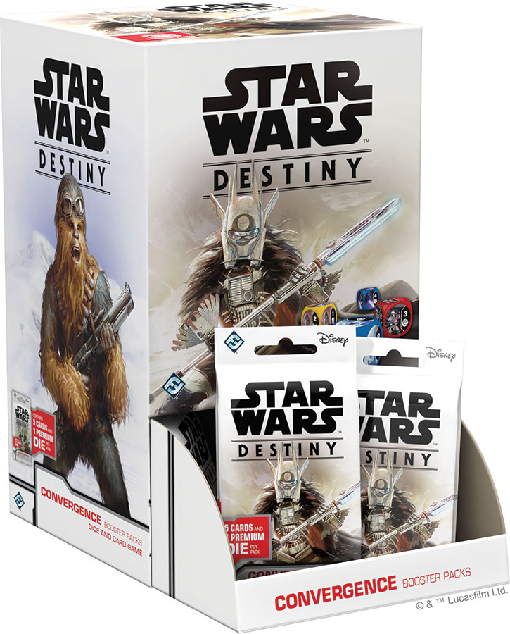 Star Wars Destiny: Convergence Booster Pack Display (36) Game Box
