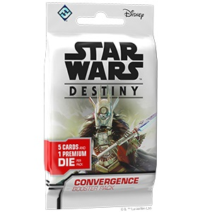 Star Wars Destiny: Convergence Booster Pack Game Box