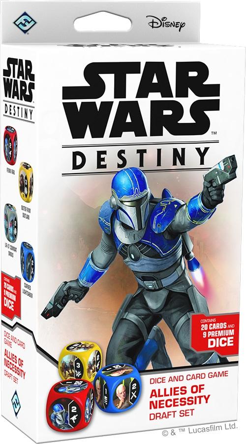 Star Wars Destiny: Allies Of Necessity Draft Set Game Box