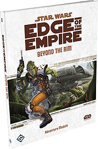 Star Wars Rpg: Edge Of The Empire - Beyond The Rim Box Front
