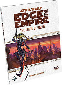 Star Wars Rpg: Edge Of The Empire - The Jewel Of Yavin Box Front