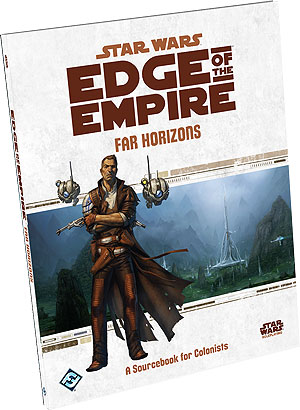 Star Wars Rpg: Edge Of The Empire - Far Horizons Sourcebook Box Front