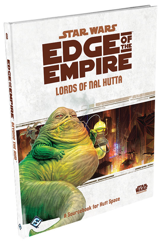 Star Wars Rpg: Edge Of The Empire - Lords Of Nal Hutta Sourcebook Hardcover Box Front