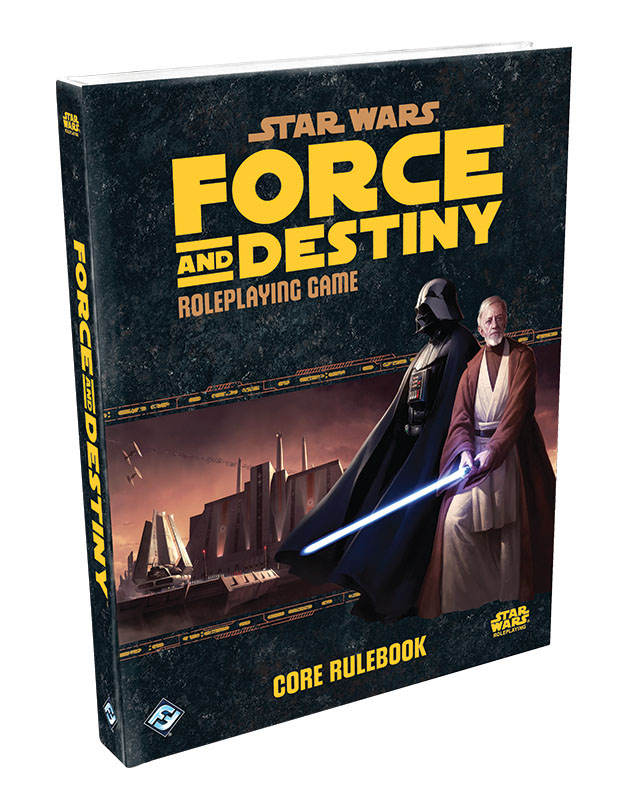 Star Wars Rpg: Force And Destiny - Core Rulebook Hardcover Box Front