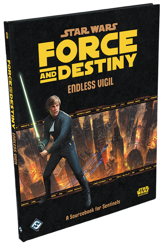 Star Wars Rpg: Force And Destiny - Endless Vigil Hardcover Box Front