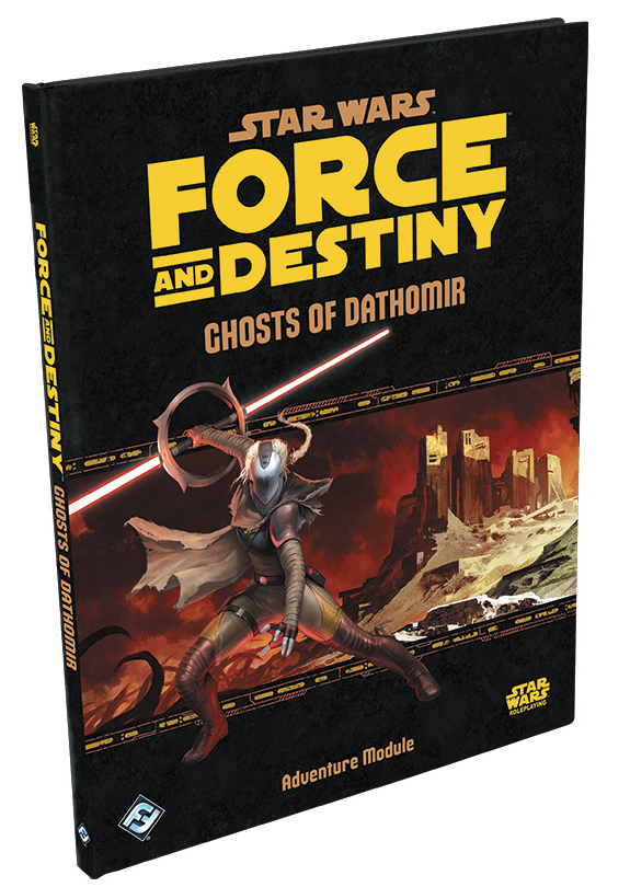 Star Wars Rpg: Force And Destiny - Ghosts Of Dathomir Hardcover Box Front