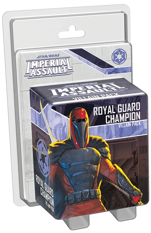 Star Wars Imperial Assault: Royal Guard Champion Villain Pack Box Front