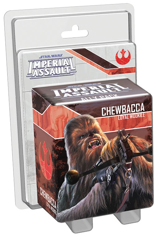 Star Wars Imperial Assault: Chewbacca Ally Pack Box Front