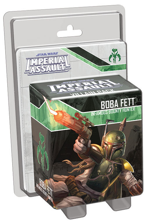 Star Wars Imperial Assault: Boba Fett Villain Pack Box Front