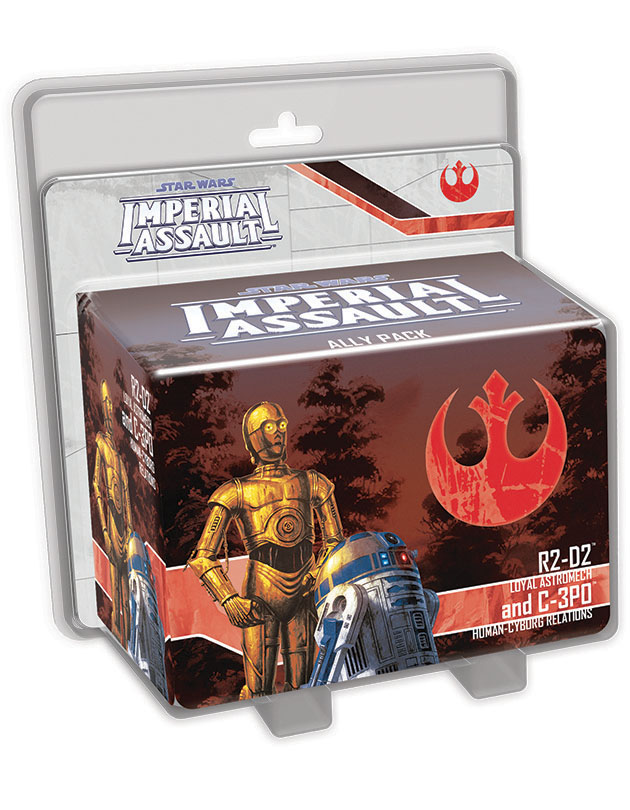 Star Wars Imperial Assault: R2-d2 And C-3po Ally Pack Box Front