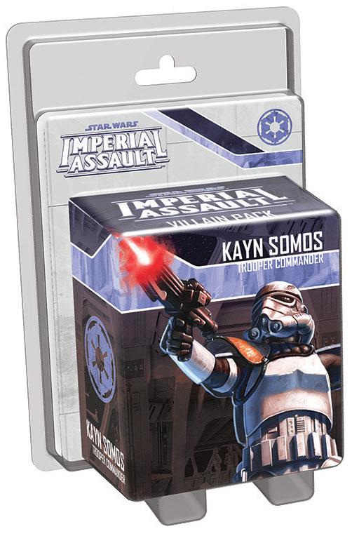 Star Wars Imperial Assault: Kayn Somos Villain Pack Box Front